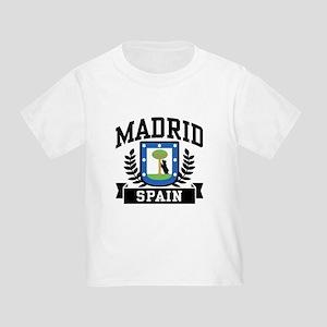 Madrid Spain Toddler T-Shirt