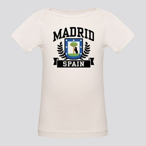 Madrid Spain Organic Baby T-Shirt