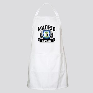 Madrid Spain Apron