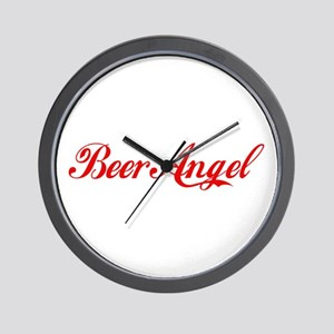 Beer Angel Wall Clock