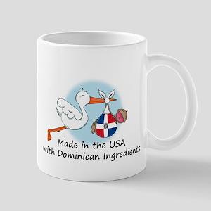 Stork Baby Dominican Rep. USA Mug