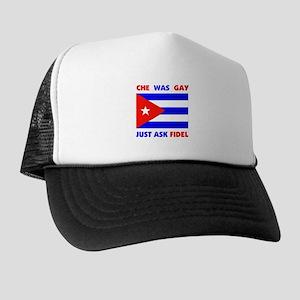 IDIOTS PRAISE CHE Trucker Hat