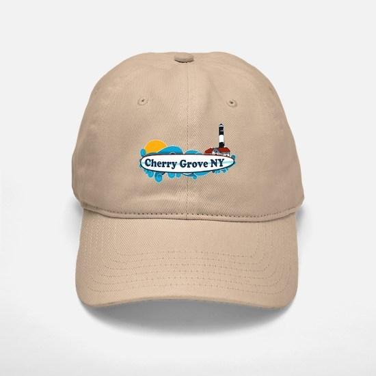 Cherry Grove - Fire Island Baseball Baseball Cap