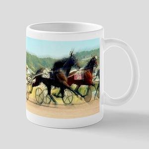 Harness horse racing trotter present gift idea Mug