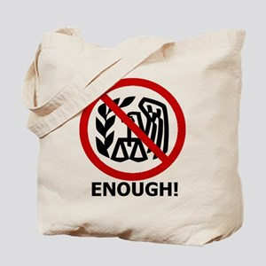 taxed to death Tote Bag