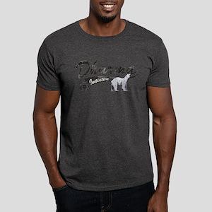 LOST Dharma Initiative Polar Bears Dark T-Shirt