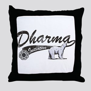 LOST Dharma Initiative Polar Bears Throw Pillow
