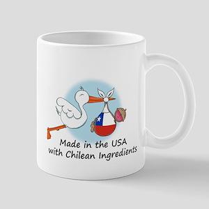 Stork Baby Chile USA Mug