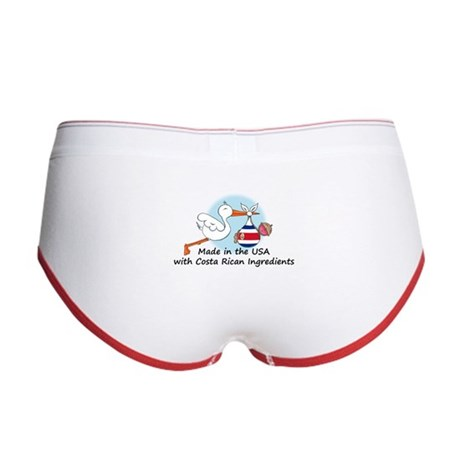 Stork Baby Costa Rica USA Women's Boy Brief