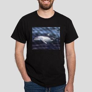 Dolphin Black T-Shirt