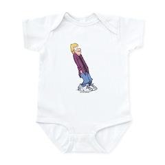 Eyeroll Jeremy Infant Bodysuit