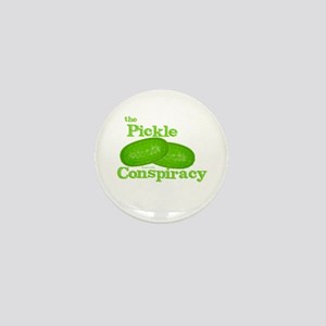 Pickle Conspiracy Mini Button