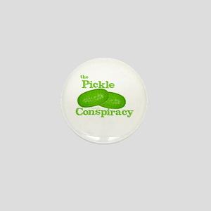 Pickle Conspiracy Mini Button