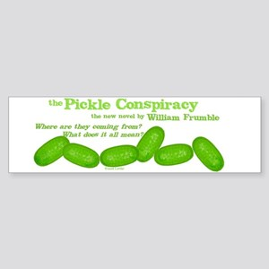 Pickle Conspiracy Bumper Sticker