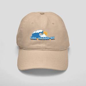 Fire Island - Waves Design Cap