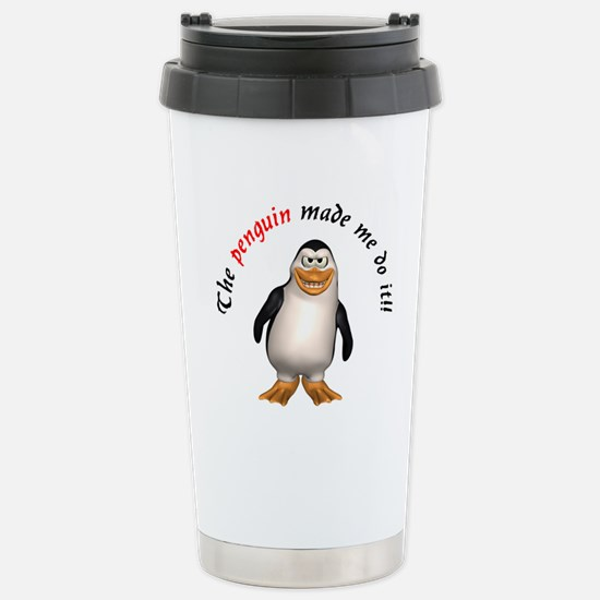 The penguin made me do it!! Stainless Steel Travel