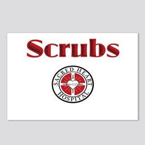 Scrubs and Sacred Heart Postcards (Package of 8)