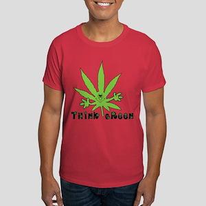 Marijuana Think Green Dark T-Shirt