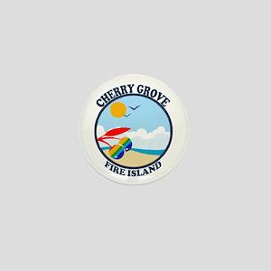 Cherry Grove - Beach Design Mini Button