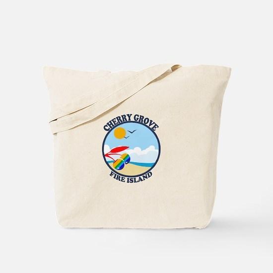 Cherry Grove - Beach Design Tote Bag