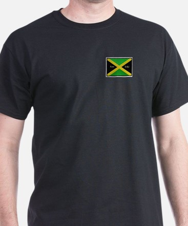 KooYah Dark Ja Flag Patch T-Shirt