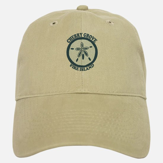 Cherry Grove - Sand Dollar Design Baseball Baseball Cap