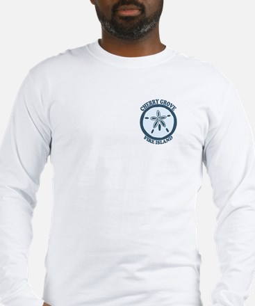 Cherry Grove - Sand Dollar Design Long Sleeve T-Sh