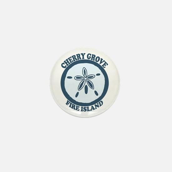 Cherry Grove - Sand Dollar Design Mini Button