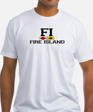 Fire Island - Nautical Design Shirt