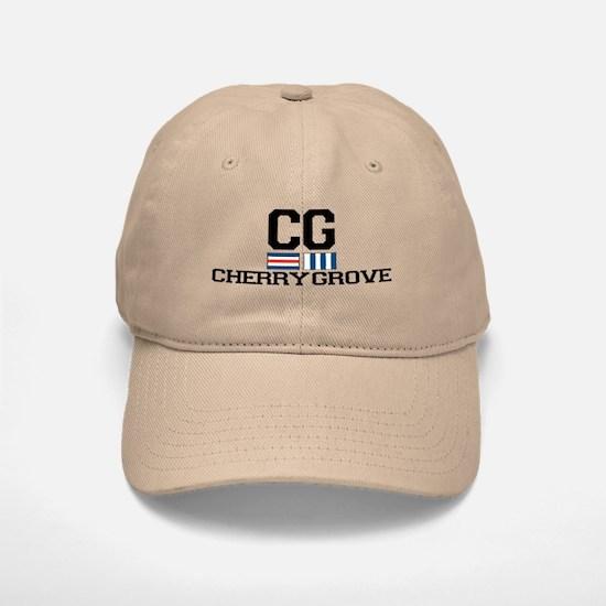 Cherry Grove - Nautical Design Baseball Baseball Cap