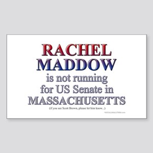 Maddow for Senate Sticker (Rectangle)