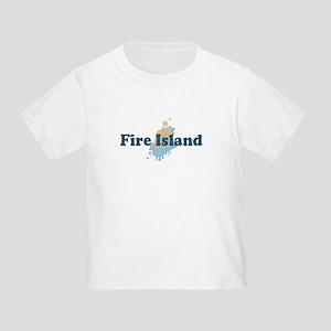 Fire Island - Seashells Design Toddler T-Sh