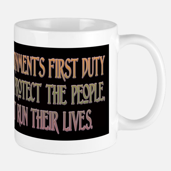 Ronald Reagan on Government's Mug