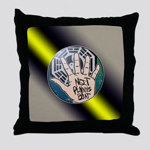 Not Pennys Boat LOST Throw Pillow