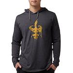 Dagger Drip (gold) Men's Long Sleeve T-Shirt
