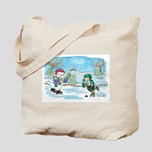 Hockey Holidays! Tote Bag