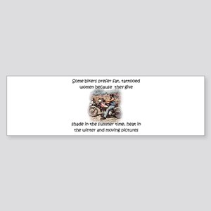 Biker Tatoo Bumper Sticker