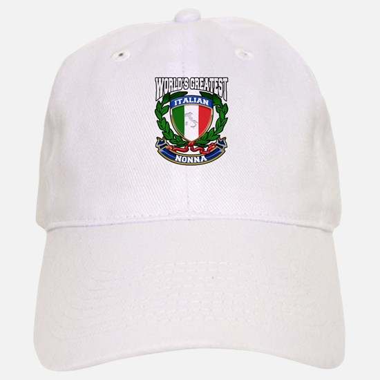 World's Greatest Italian Nonna Baseball Baseball Cap