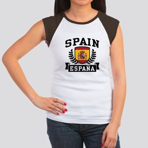 Spain Espana Women's Cap Sleeve T-Shirt
