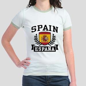 Spain Espana Jr. Ringer T-Shirt