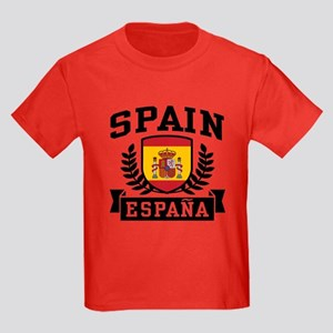 Spain Espana Kids Dark T-Shirt