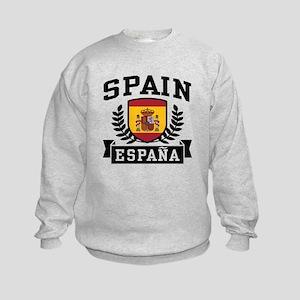 Spain Espana Kids Sweatshirt