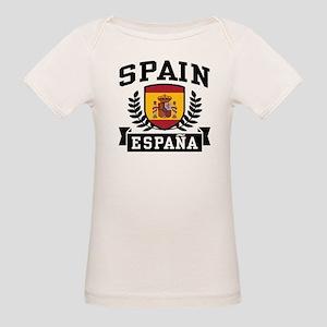 Spain Espana Organic Baby T-Shirt