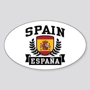 Spain Espana Sticker (Oval)