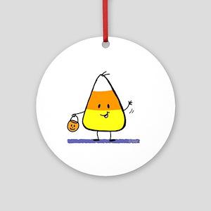 Little Candy Corn Keepsake (Round)
