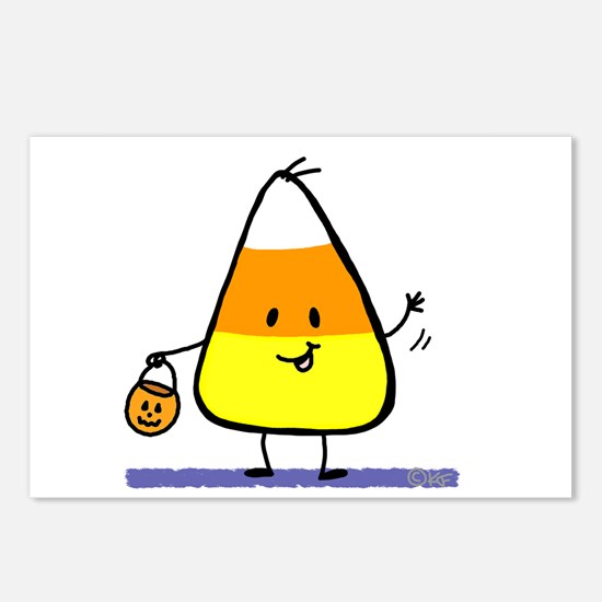 Little Candy Corn Postcards (Package of 8)