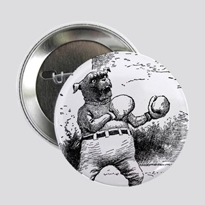 """Boxing Dog 2.25"""" Button"""