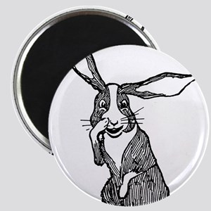 Nosy Rabbit Magnet