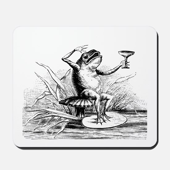 Drinking Frog Mousepad