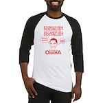 Obama the Duck Baseball Jersey